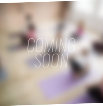 Yoga group fitness coming soon